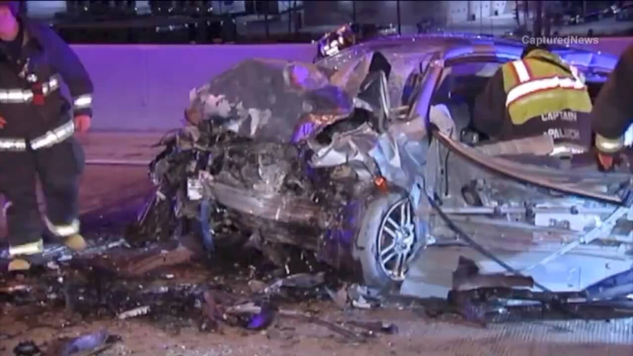 When a veteran state trooper came upon the crash scene, he expected to find no survivors.